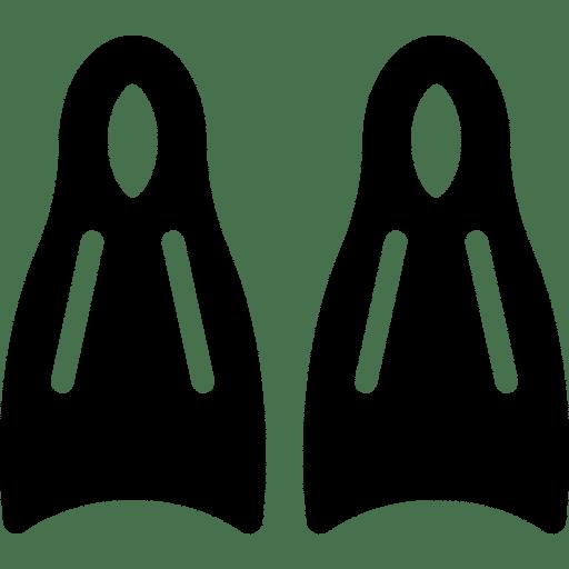 Icon von Schwimmflossen